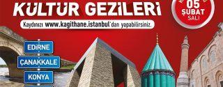 Kağıthane Belediyesi Kültür Gezileri Başlıyor! afiş