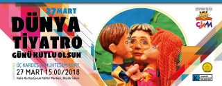 Üç Kardeş ve Muhteşem Kurt Tiyatro Ücretsiz afiş