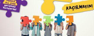 4.Türkiye Puzzle Hız Yarışması Torium'da! afiş