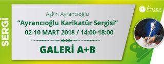 Ayrancıoğlu Karikatür Sergisi afiş