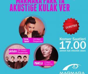 Marmara Park'ta Akustiğe Kulak Ver!