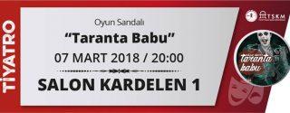 Taranta Babu Tiyatro afiş
