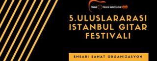 5.Uluslararası İstanbul Gitar Festivali afiş