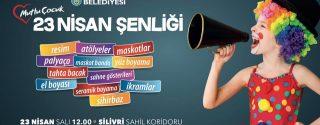 23 Nisan Silivri Çocuk Şenliği afiş