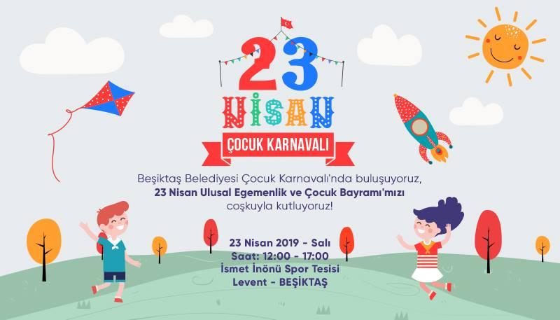 Beşiktaş 23 Nisan Çocuk Karnavalı