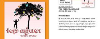 Top Ağacı Tiyatro afiş