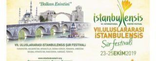 Uluslararası İstanbulensis Şiir Festivali afiş