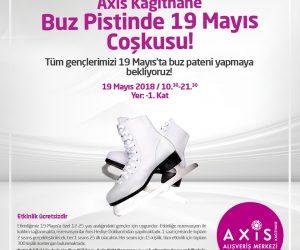 Axis Kağıthane Buz Pistinde 19 Mayıs Coşkusu