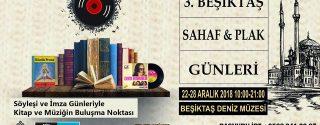 Beşiktaş Sahaf & Plak Festivali afiş