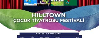 Hilltown Çocuk Tiyatrosu Festivali afiş