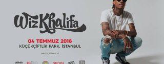 Wiz Khalifa İstanbul afiş
