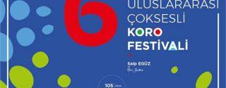 6. SANSEV İstanbul Uluslararası Çoksesli Korolar Festivali afiş