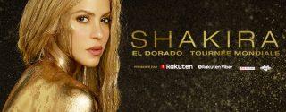 Shakira Konseri İstanbul afiş