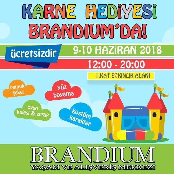Karne Hediyesi Brandium'da!