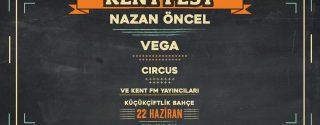 Kent Fest Nazan Öncel – Vega – Circus afiş
