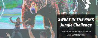Sweat In The Park Jungle Challenge afiş