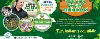 Çevre Festivali İsmail Türüt Konseri afiş