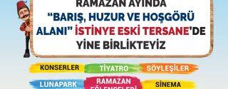 Sarıyer'de Ramazan afiş