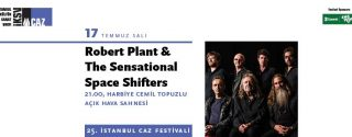Robert Plant &The Sensational Space Shifters afiş