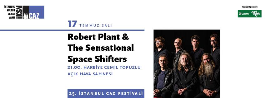 Robert Plant &The Sensational Space Shifters