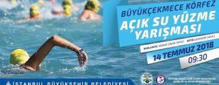 Büyükçekmece Körfez Açık Su Yüzme Yarışması afiş