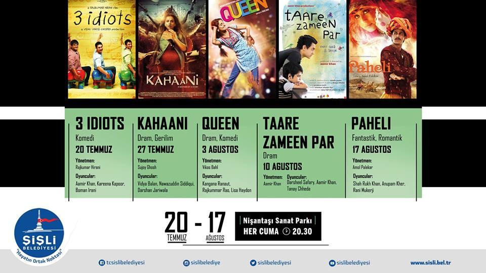 Bollywood Geceleri Başlıyor!