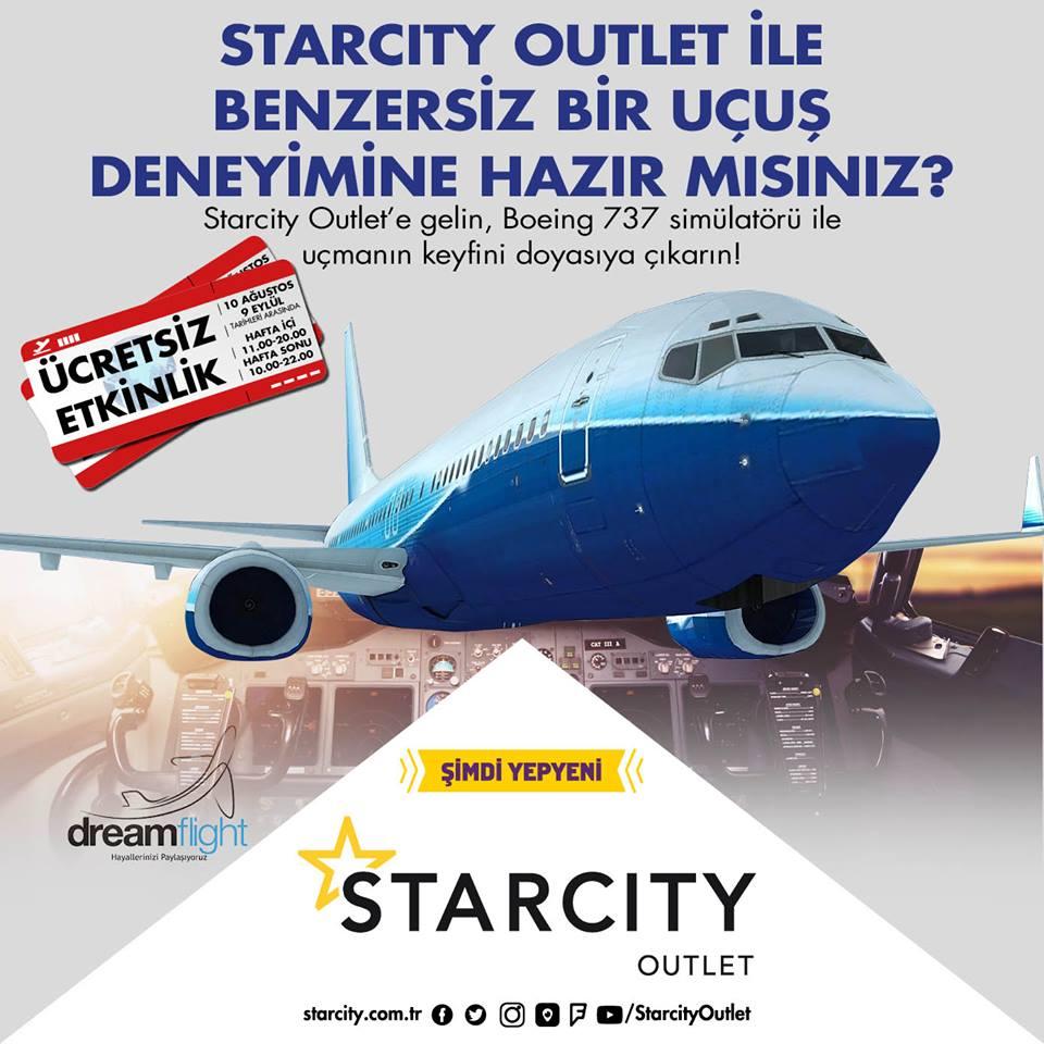 StarCıty Outlet İle Benzersiz Bir Uçuş Deneyimine Hazır mısınız?