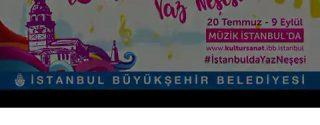 İstanbul'da Yaz Neşesi afiş