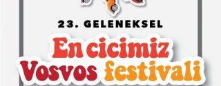 23.Geleneksel Vosvos Festivali afiş