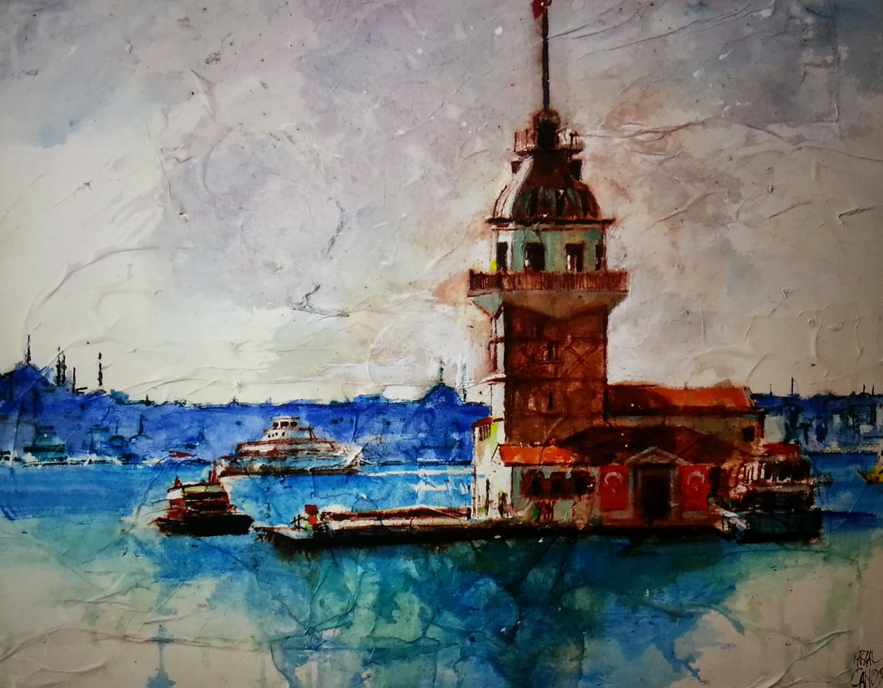 Jaume Marzal Canos İstanbul'a Bir Bakış Sergisi