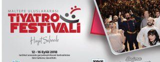 Maltepe Uluslararası Tiyatro Festivali afiş
