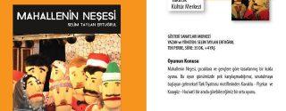 Mahallenin Neşesi Çocuk Tiyatrosu afiş