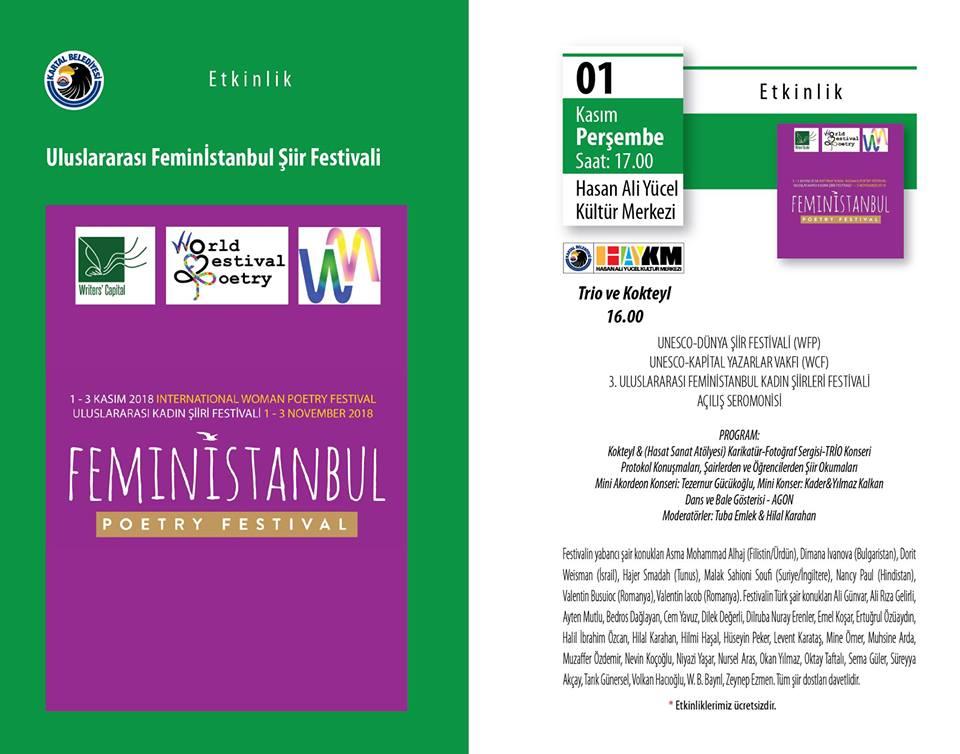 Uluslararası Feminİstanbul Şiir Festivali