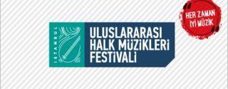 İstanbul 1.Uluslararası Halk Müzikleri Festivali afiş