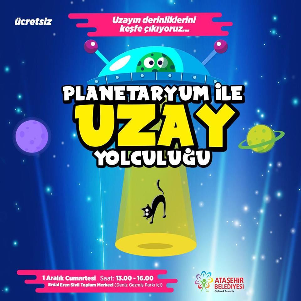 Planetaryum İle Uzay Yolculuğu