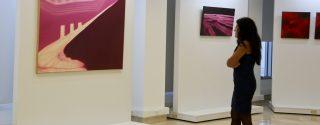 """Kırmızı Hasat"""" Resim Sergisi TSKM'de Açıldı afiş"""