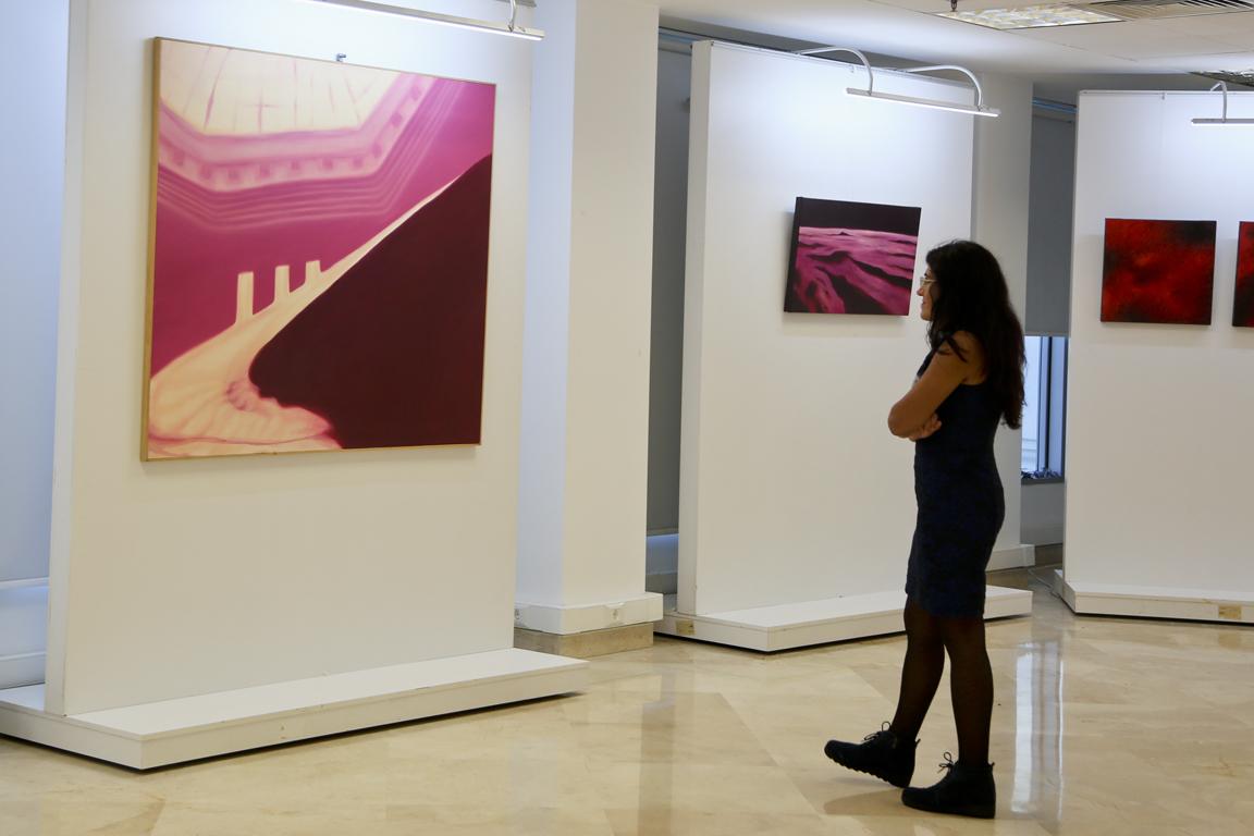"""Kırmızı Hasat"""" Resim Sergisi TSKM'de Açıldı"""