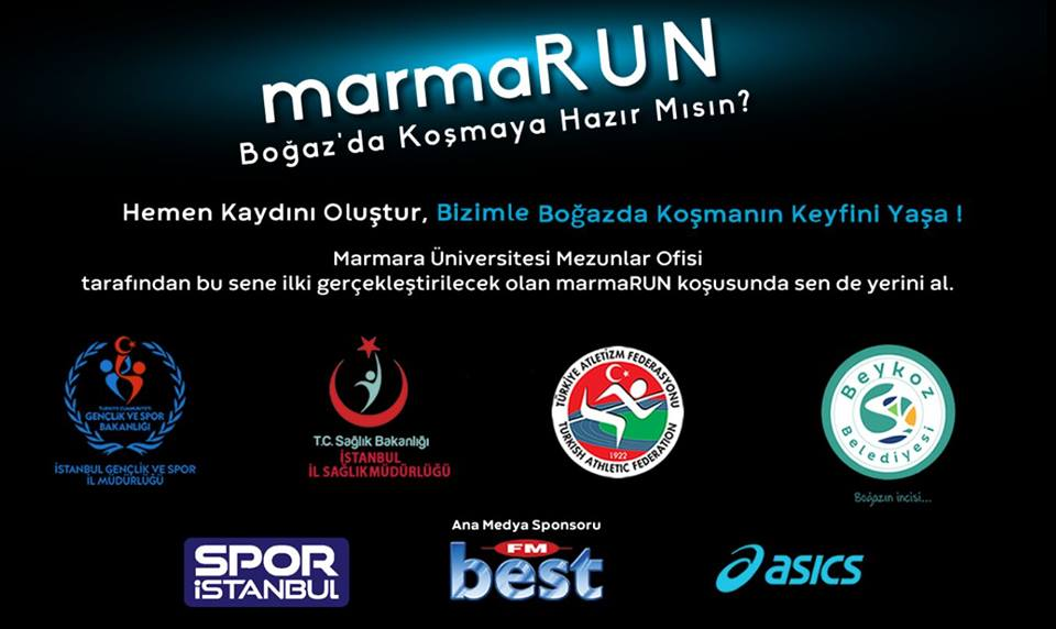 MarmaRun Boğazda Koşmaya Hazır mısın?