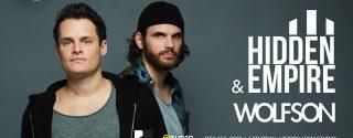 Hidden Empire & Wolfson Konseri afiş