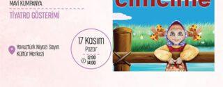 Cimcime Çocuk Tiyatrosu afiş