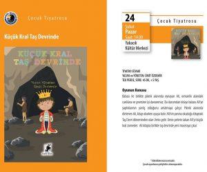 Küçük Kral Taş Devrinde Çocuk Tiyatro