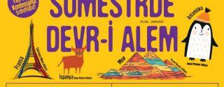 Profilo AVM'de Sömestrde Devr-i Alem afiş