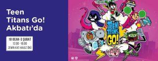 Teen Titans Go! Akbatı'da! afiş