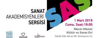 Sanat Akadesmiyenleri Sergisi afiş