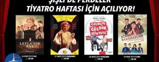 Şişli'de Perdeler Tiyatro Haftası İçin  Açılıyor! afiş