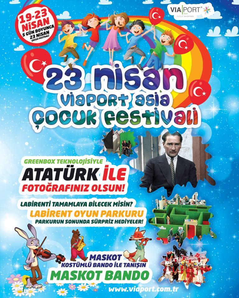 23 Nisan Viaport Asia Çocuk Festivali