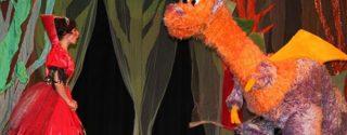 Koş Koş ve Ejderha Çocuk Tiyatro afiş