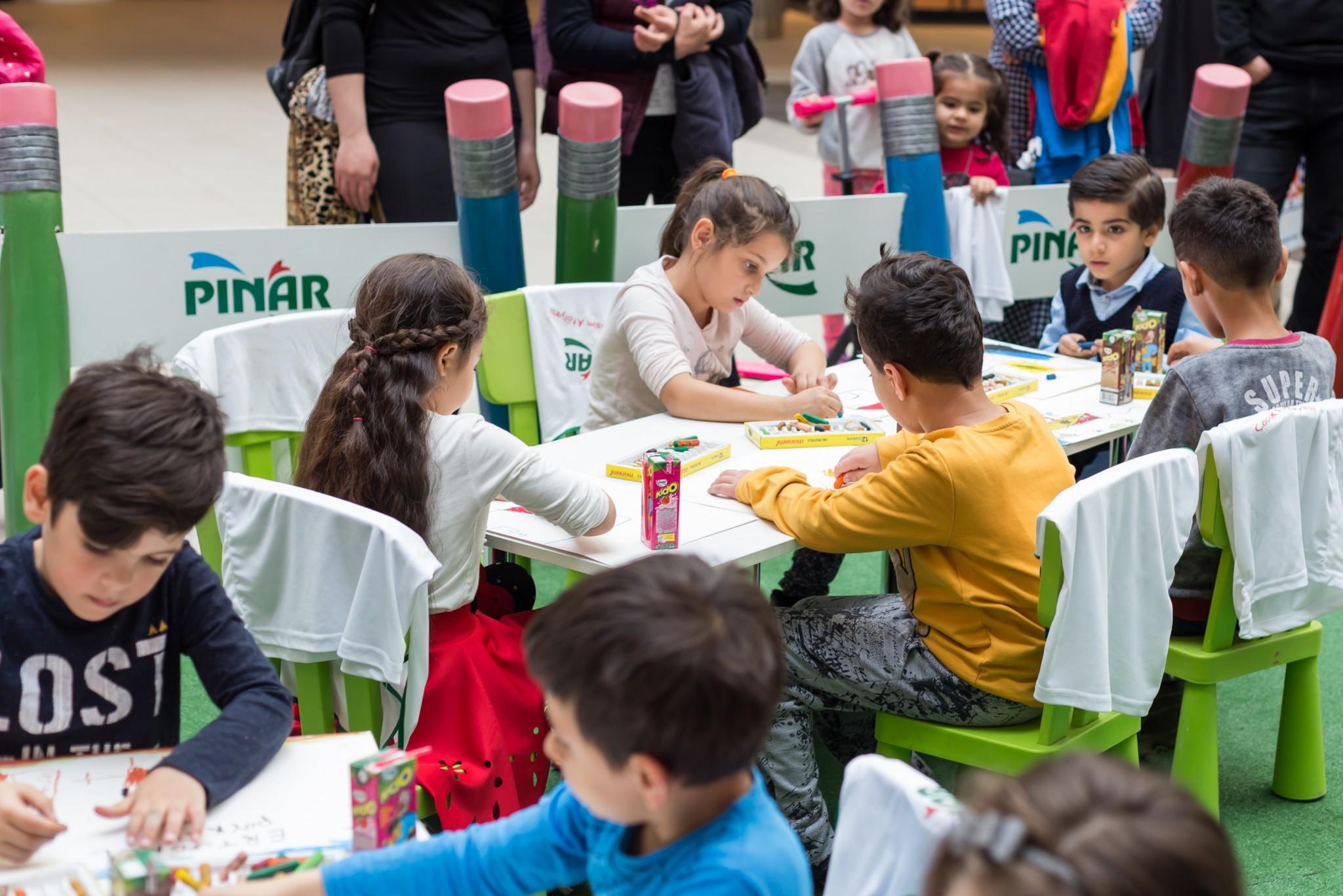 Carousel Alışveriş Merkezi'nde Çocuklar Sanatla Buluşacak!