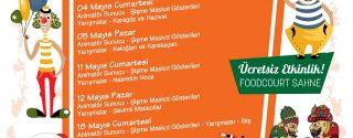 212 AVM'de Perdeler Açılıyor Çocuklar Ücretsiz Eğleniyor! afiş