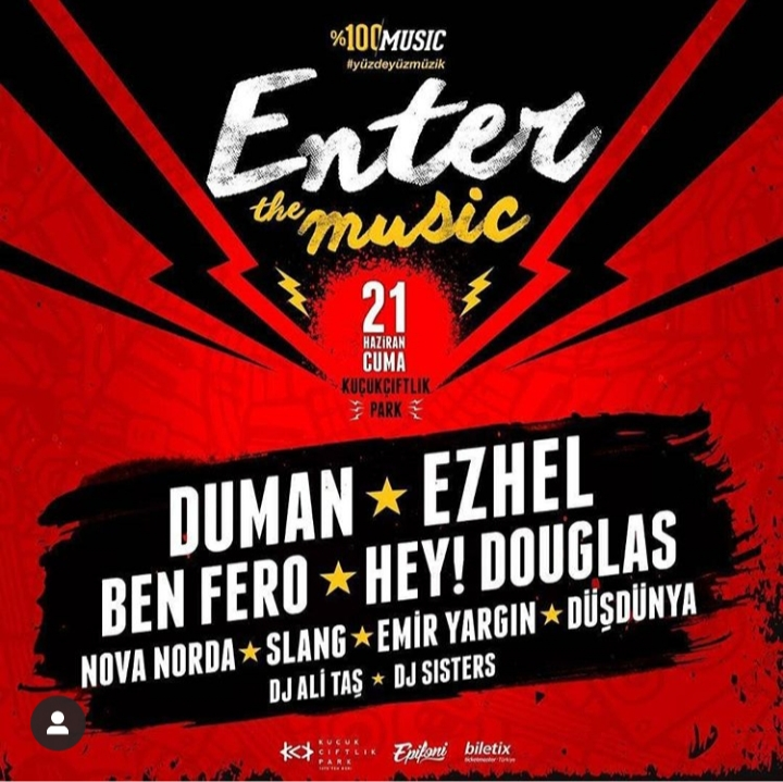 Enter The Music Duman – Ezhel – Ben Fero – Hey Douglas
